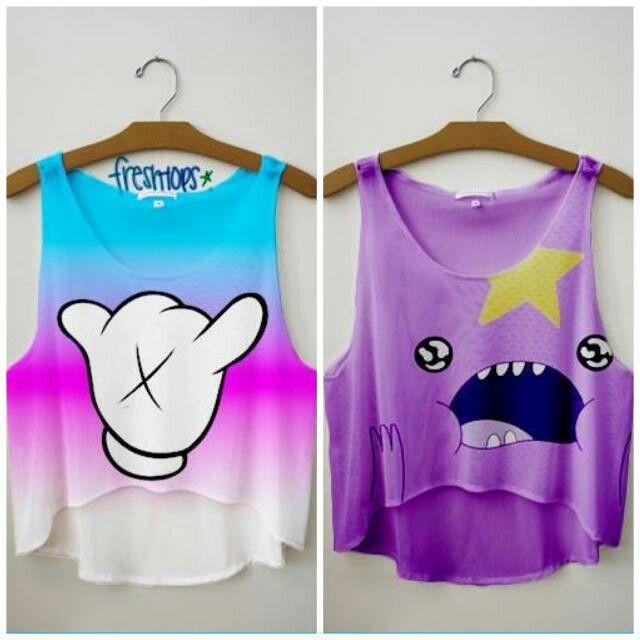 Freshtops character shirts