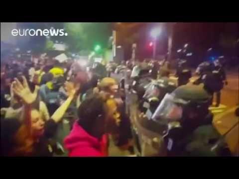 USA  stato d emergenza a Charlotte, grave un manifestante