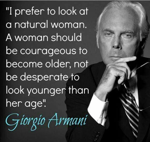 A Woman Should Be Courageous To Become Older, Not -5804
