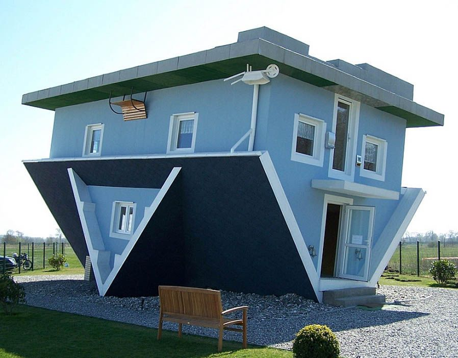 Unusual Homes Across The Globe In 2020 Upside Down House Crazy