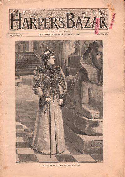Harper's Bazar March 4 1893
