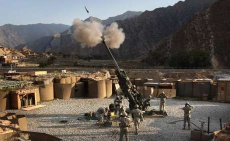 Korengal Valley of Afghanistan, held a moment of military operations