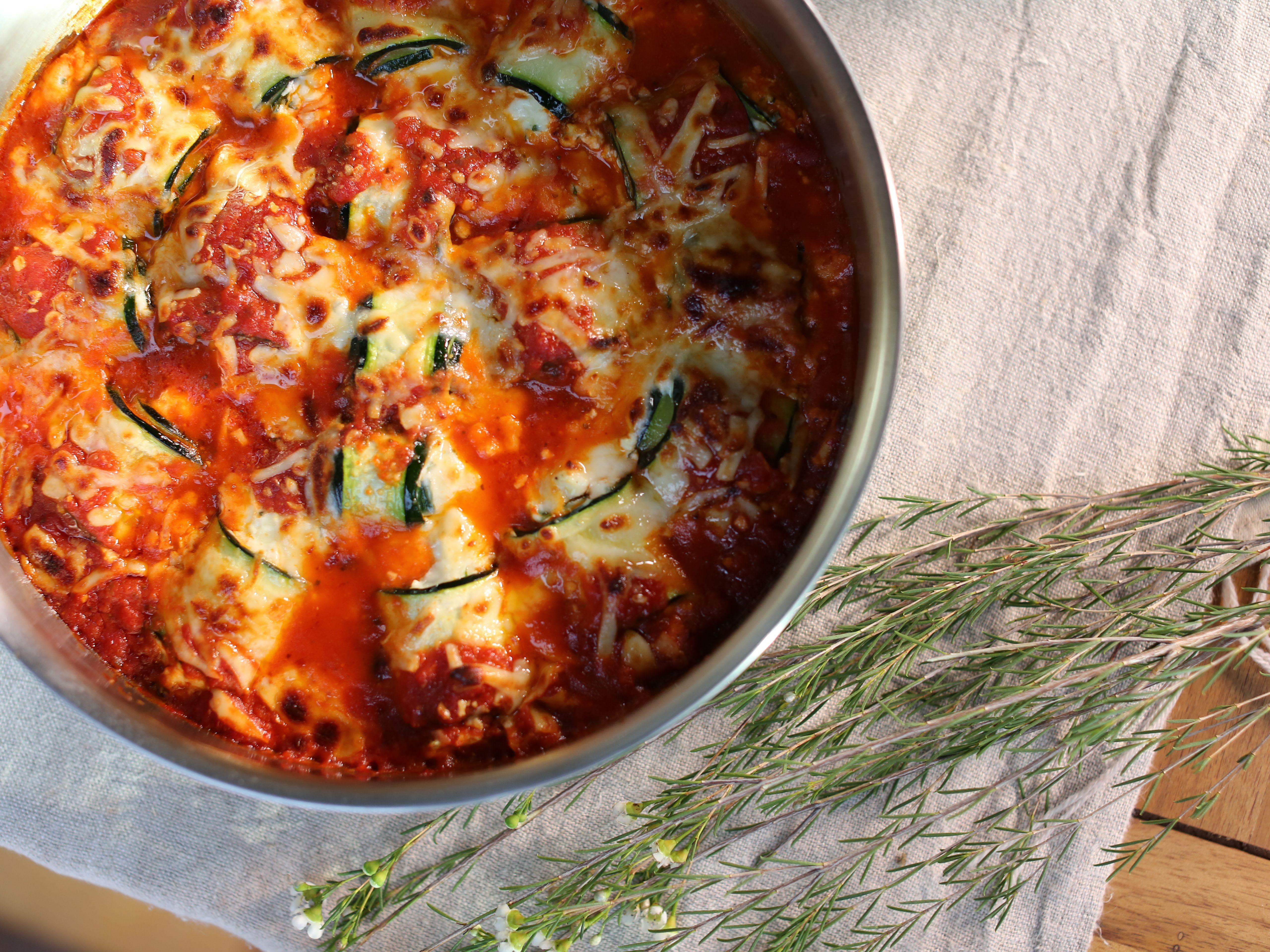 Zucchini Rollatini Recipe Food Network Recipes Rollatini Recipes