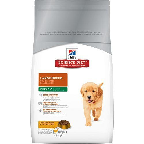 Hill S Science Diet Puppy Large Breed Dry Dog Food 30 Pound Bag Large Breed Dog Food Hills Science Diet Dry Dog Food