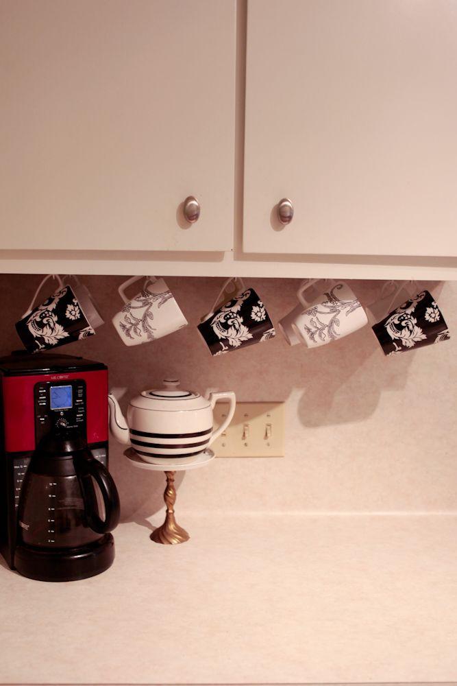 Coffee Mug Organization At Its Best Organization Pinterest - Best coffee mug organization ideas