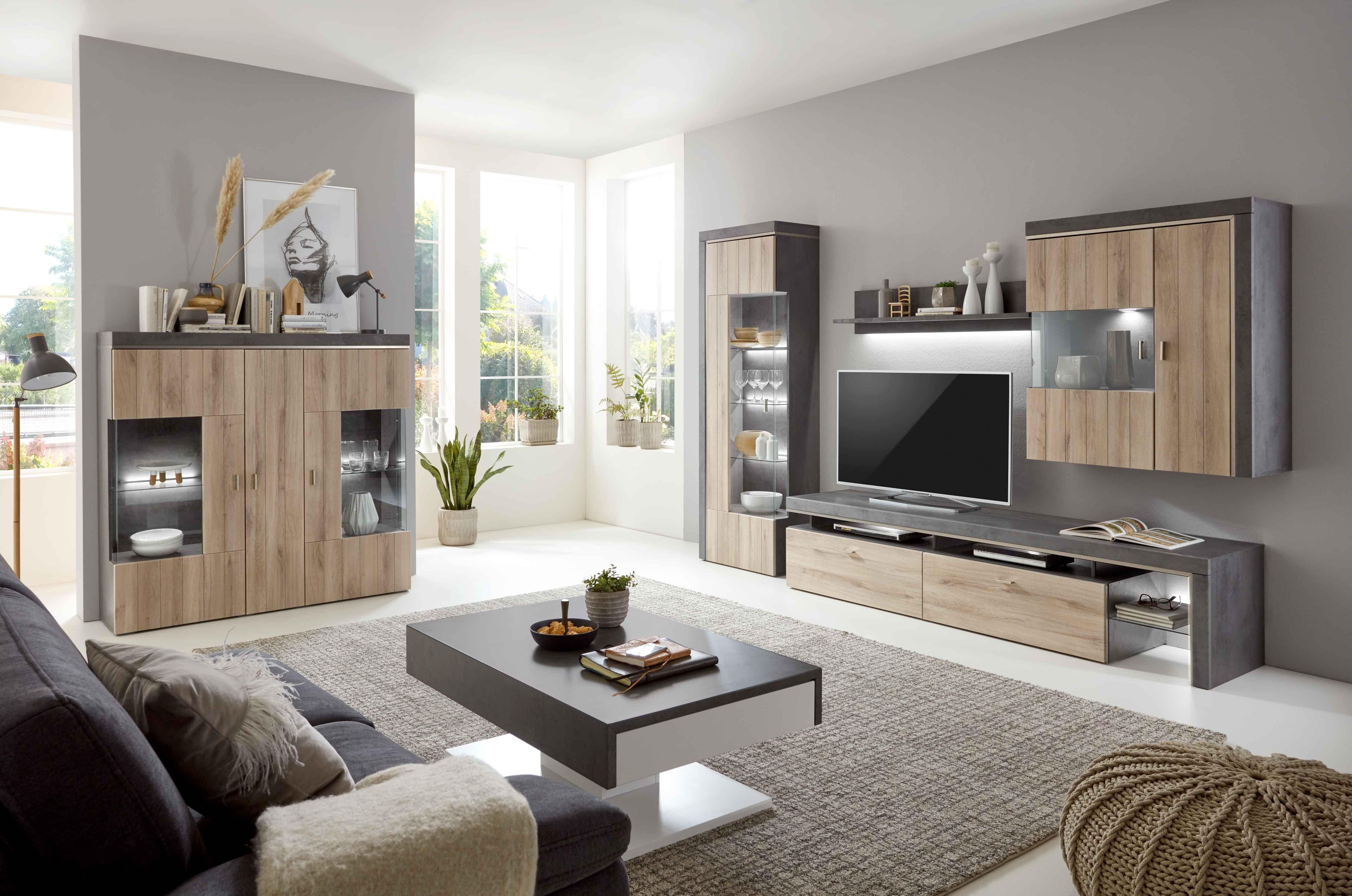 Wohn-Trend Beton  Wohnung wohnzimmer, Wohn möbel, Wohnen