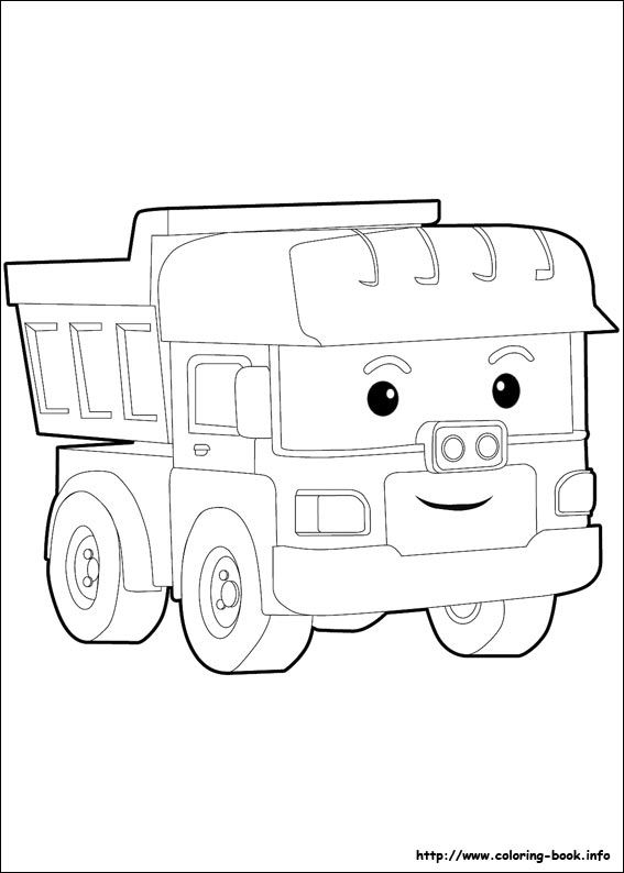 Coloring Pages Robocar Poli : Robocar poli coloring picture pinterest