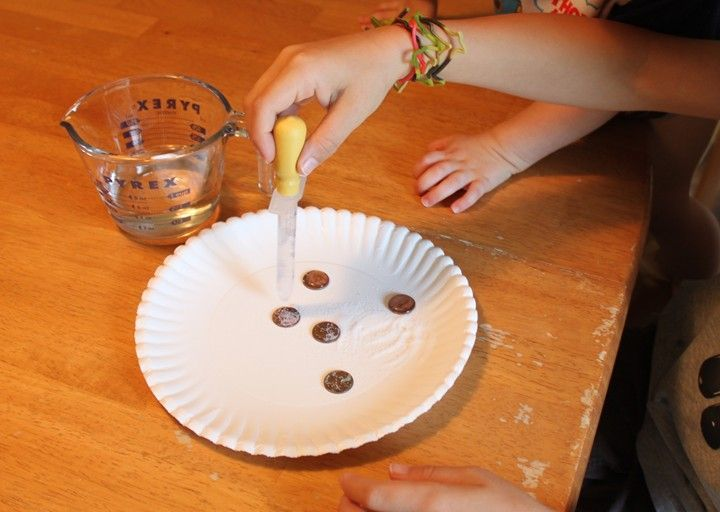 Fun science - transform dirty pennies into shiny ones with a simple chemical…