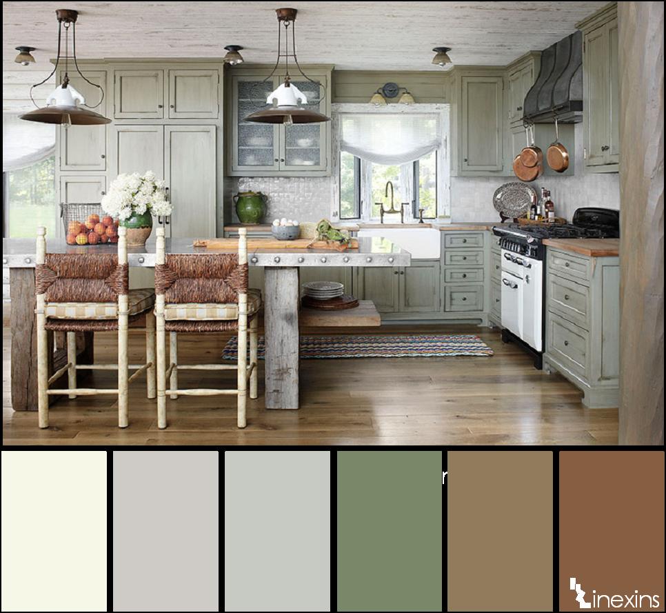 Creando calma en un espacio 10 paletas de color que te for Que color combina con el gris para pintar una casa