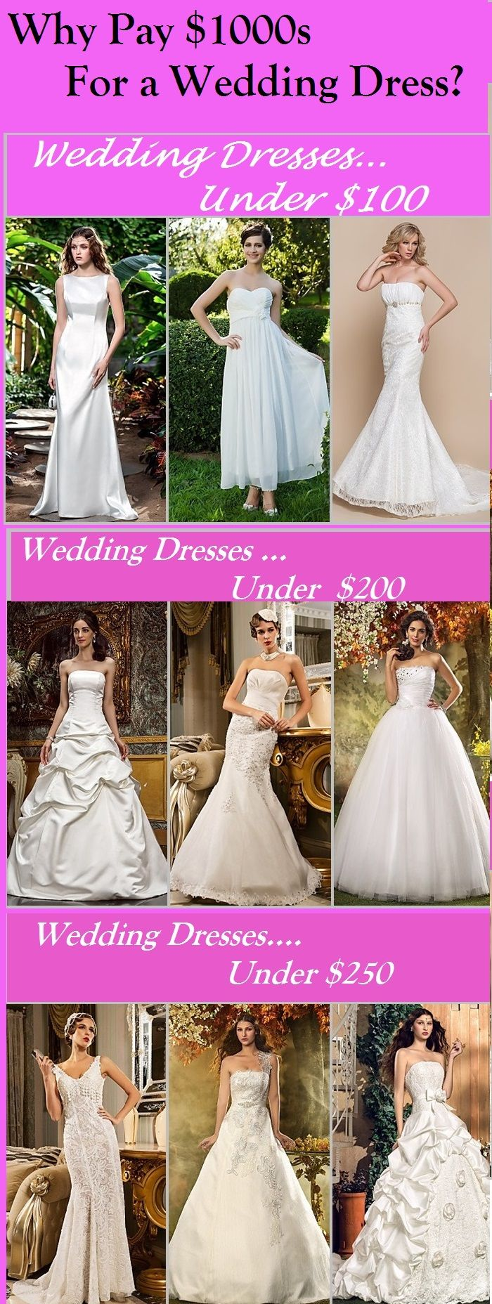 Wedding Dresses Under 250 What Did You Spend On Your Dress Far Less Planning A We Have Some Exclusive Coupons For