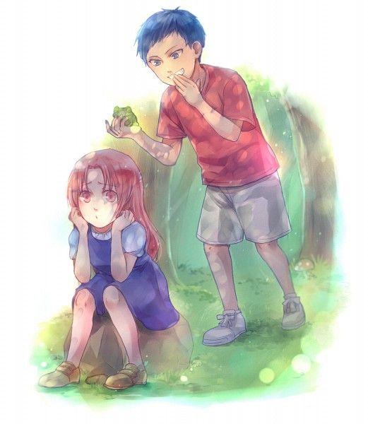 Výsledek obrázku pro Momoi satsuki kid
