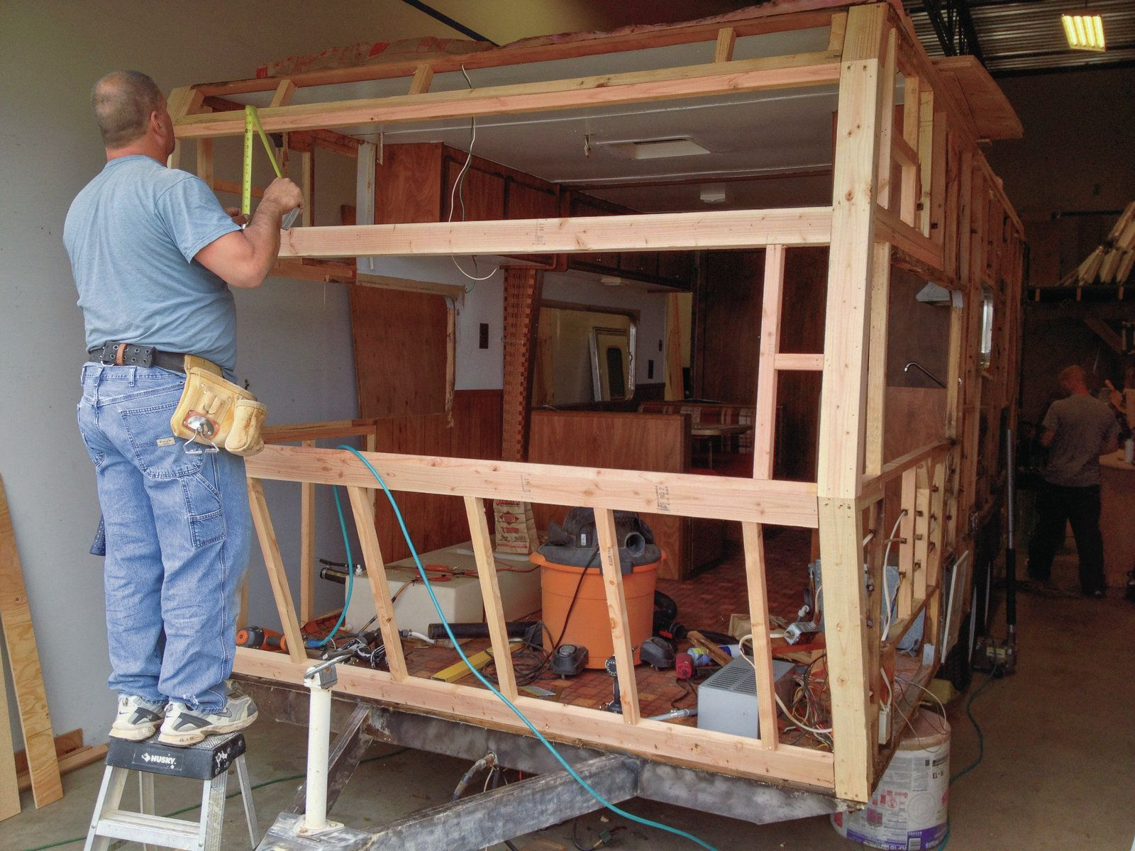 Terry Travel Trailer Remodel - Google Search | Trailer Structure
