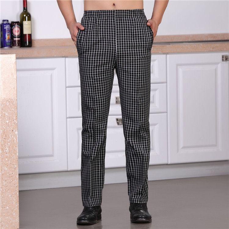da8fd389503 chef pants hotel cook service waiter pants Cook pants work pants hotel  restaurant uniforms chef uniform