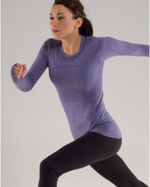 long sleeved run swiftly t / lululemon I have a couple of