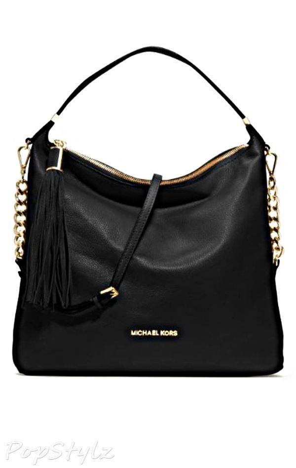 Michael Kors Weston Leather Shoulder Bag Handtaschen Michael Kors Taschen Michael Kors Umhangetasche
