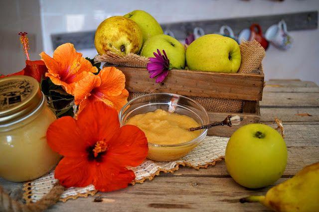 Hoy vamos con algo sencillo de hacer mermelada de pera y manzana me a encantado el sabor y la textura muy suave la receta la e tomado p...