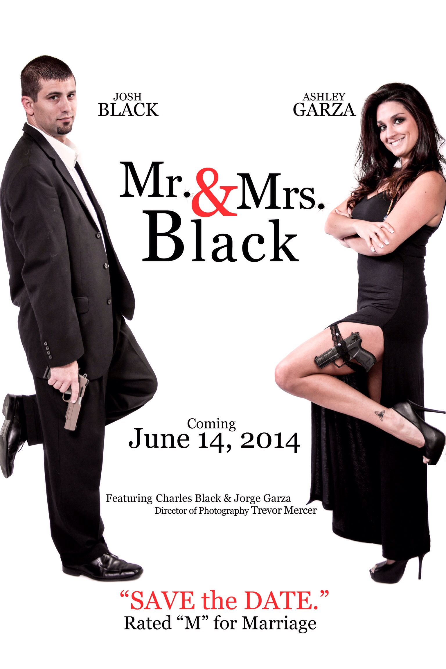 Our Save the Dates, Mr. & Mrs. Smith Theme | Engagment/Wedding ...