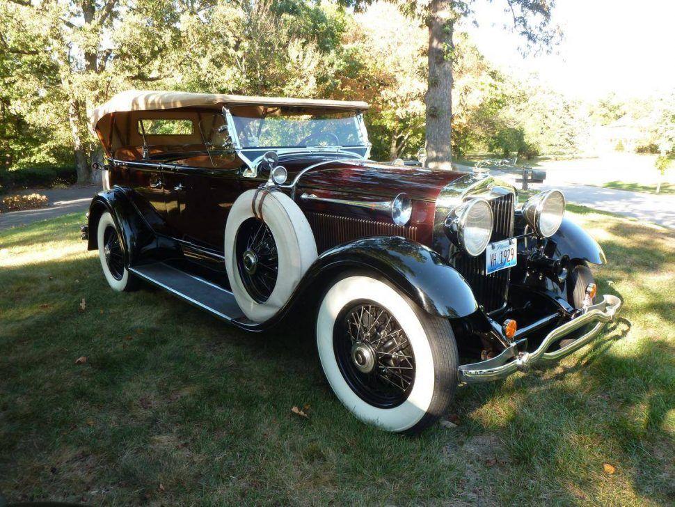 1929 Lincoln L dual cowl phaeton | Classic Marques - Lincoln ...