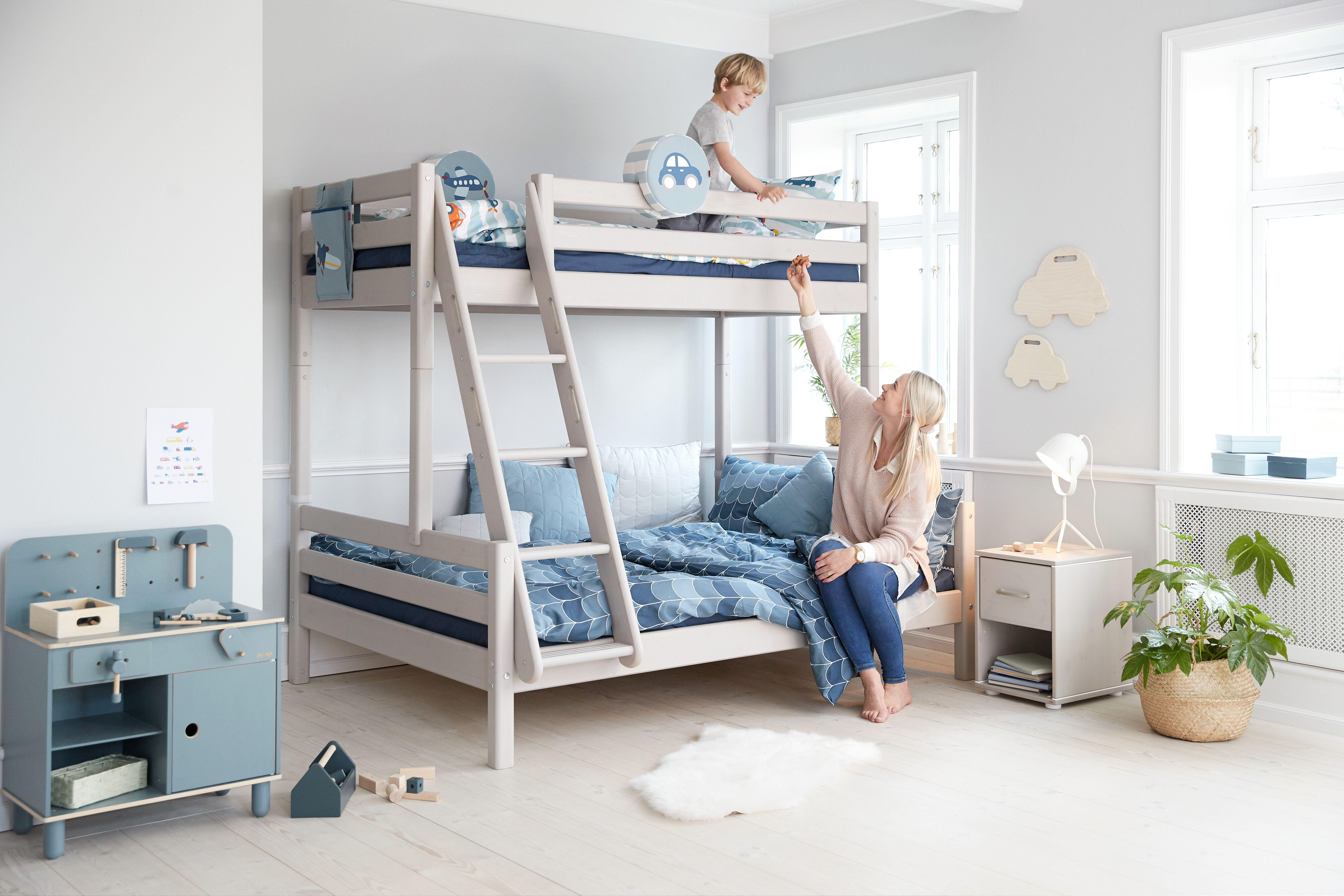 Familienbett in 2020 | Etagenbett, Kinder möbel, Bett