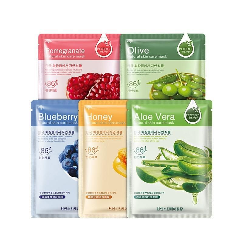All Natural Moisturizing Plant Facial Mask -   17 skin care Masks facials ideas