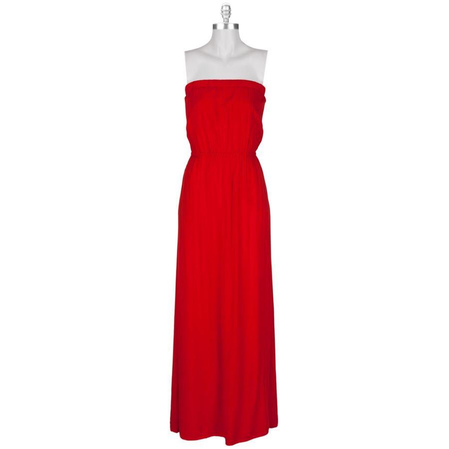 Splendid Women's Contemporary Strapless Maxi Dress #VonMaur