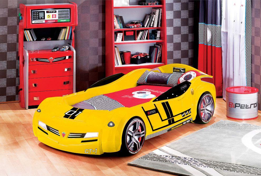 Kid S Car Beds Car Bed Car Themed Bedrooms Kids Car Bed