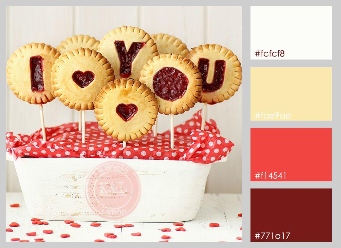 paletas de colores dulces san valentin sweet saint valentine colour ...