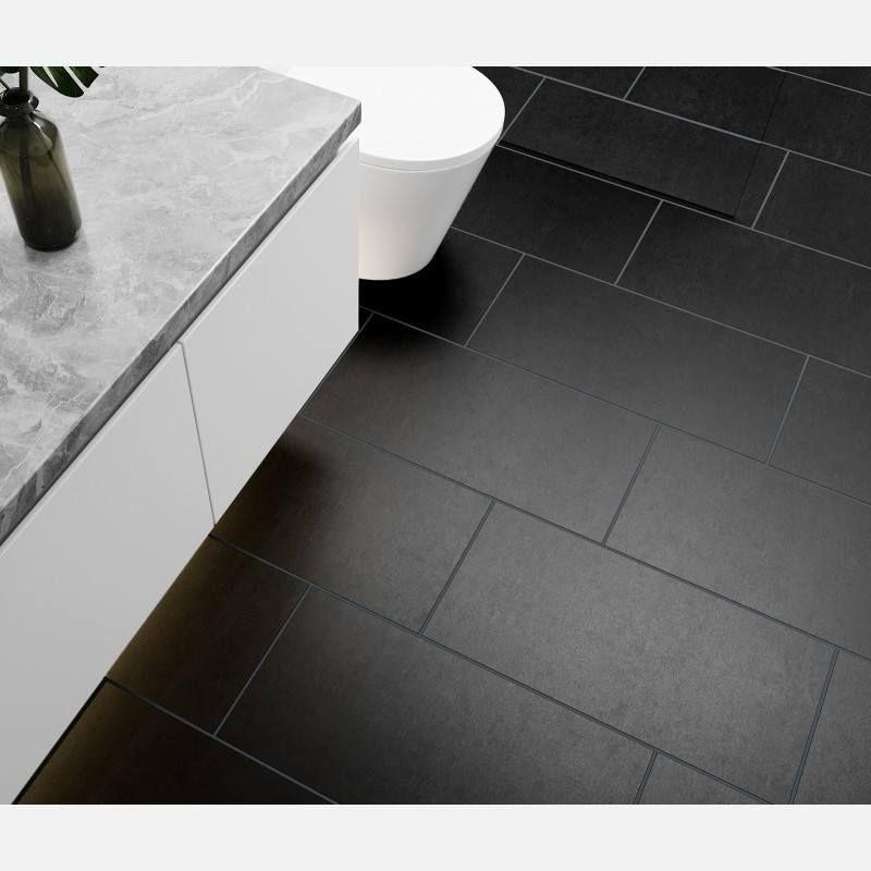 Lounge Black Matt Porcelain in 2020  Natural wood