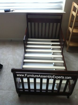 walmart toddler bed assembled in Silver spring MD by Furniture assembly experts LLC