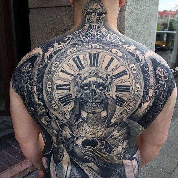 75 Sweet Tattoos For Men Cool Manly Design Ideas Cool Back Tattoos Back Tattoos For Guys Tattoos For Guys Badass