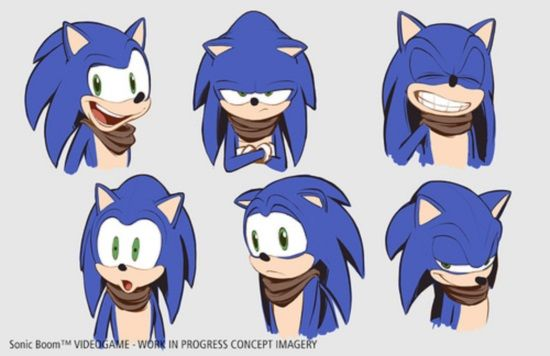 Sonic Boom Sonic And Friends Get A Redesign New Game And New Tv Series Sonic Boom Sonic The Hedgehog Sonic