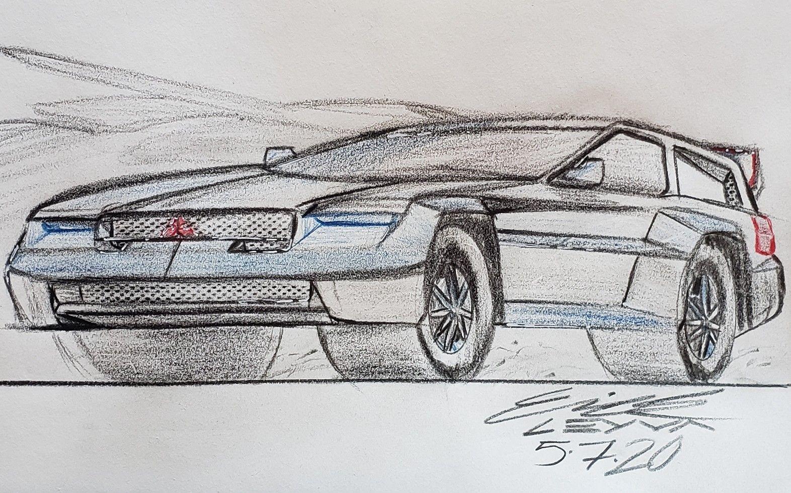 Mitsubishi Pajero Evolution Concept In 2020 Automotive Design Expedition Vehicle Concept Cars