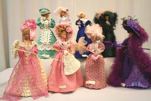 Roupa de Barbie de croche | Crocheart