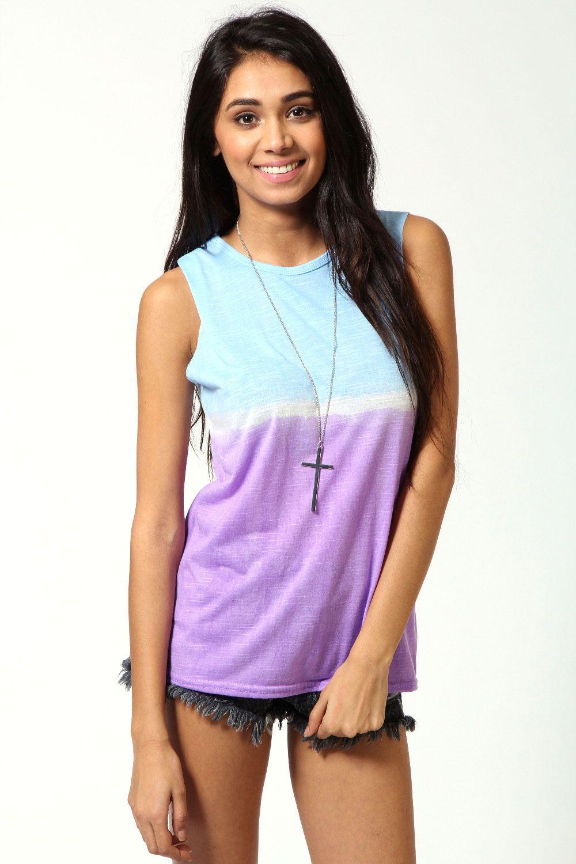 Lexi Tie Dye Ombre Vest | Online shopping clothes, Fashion ...