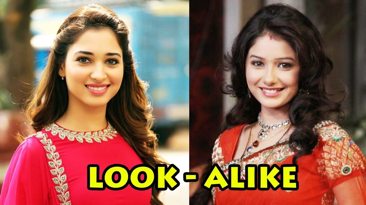 Top 6 Tv And Bollywood Actresses Look Alike 2017 Bollywood Actress Actresses Look Alike