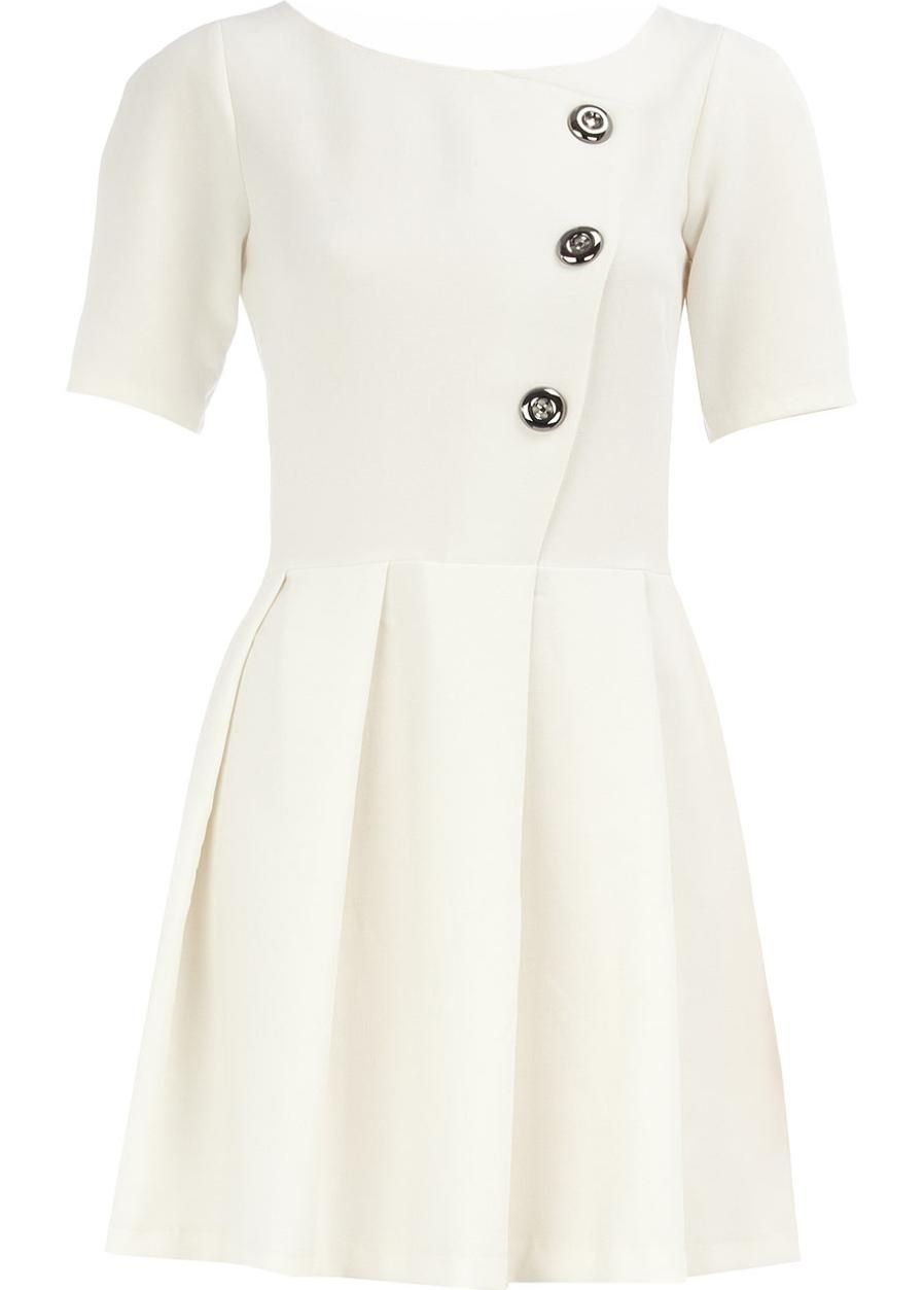 Buttoned Purity Dress - available at www.RicketyRack.com!