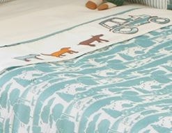 Farm Animal Toile Baby Bedding Curtains By Joules At Www Funkynursery Co