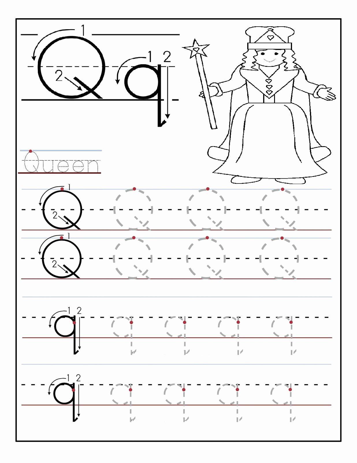 Alphabets Worksheets For Preschoolers In