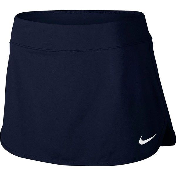 Women's Nike Pure Dri-FIT Tennis Skort Obsidian And White