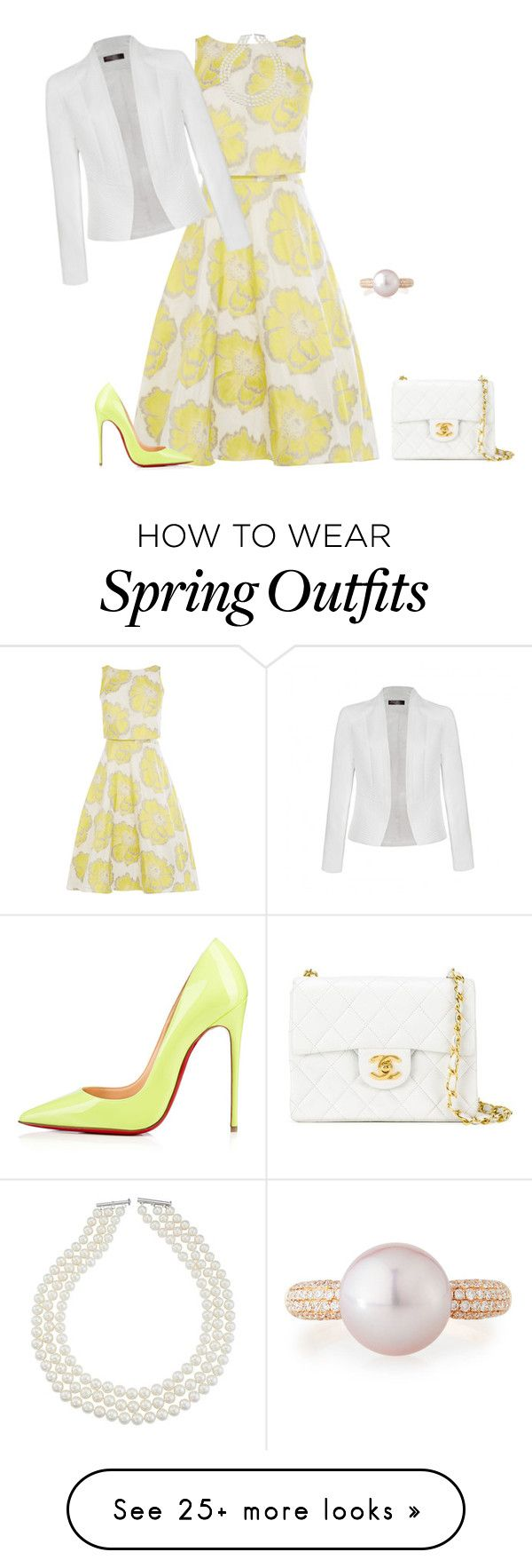 """""""outfit 3786"""" by natalyag on Polyvore featuring Ally Fashion, Chanel and Belpearl"""