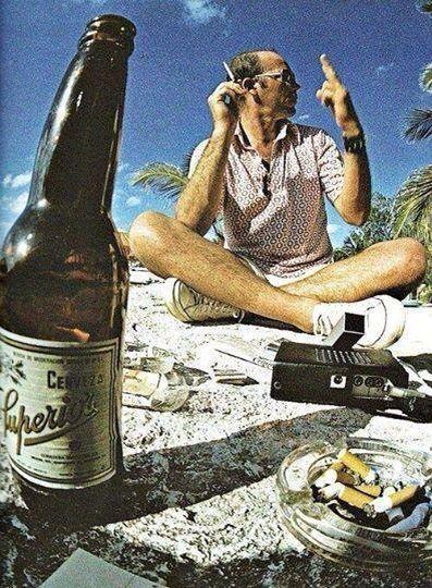 Hunter S. Thompson / México, 1979.