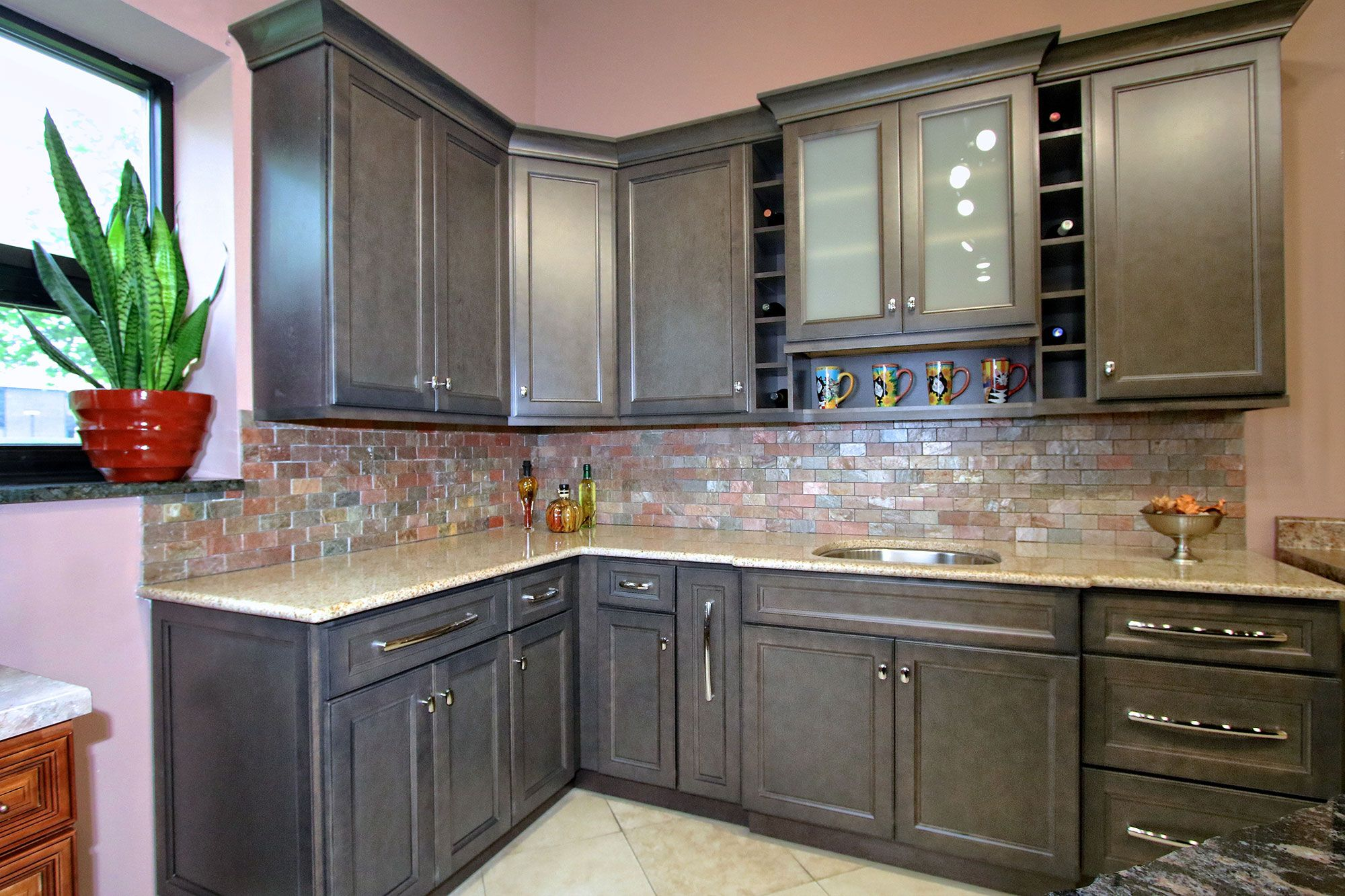instock kitchen cabinets white drop in sink aspen wood stiock stock
