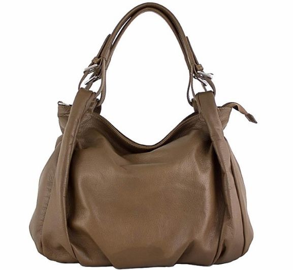c1cf4ff062e5 Etasico Mona Distressed Leather Handbag Brown Hobo Bag  199 SALE  169 FREE  SHIPPING  etasico  etasicomona