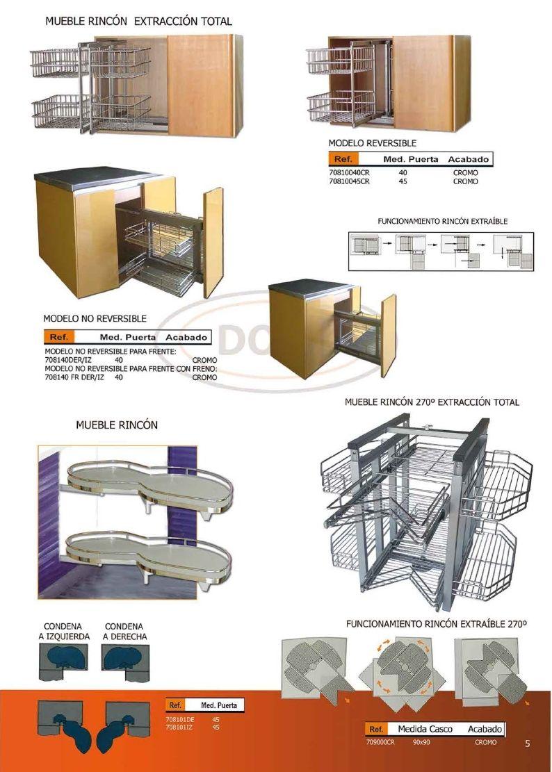 Diseño De Muebles Madera: Herrajes y Accesorios Para Muebles ...