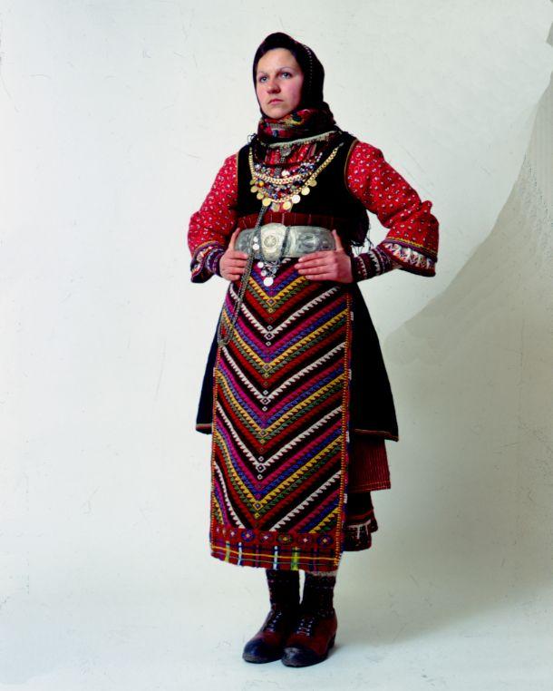 e63f16f0f Orini/Serres/Macedonia Greek Traditional Dress, Historical Costume,  Historical Clothing, Bulgarian