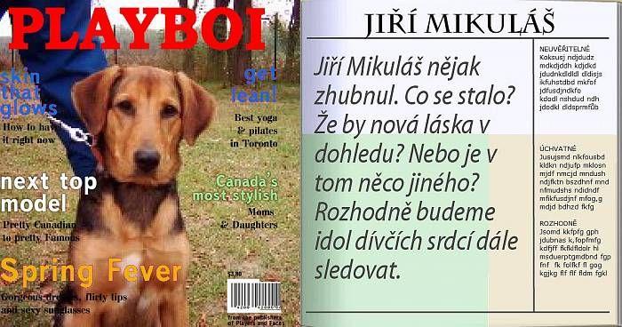 [Jiří Mikuláš] - Tvoje obálka časopisu