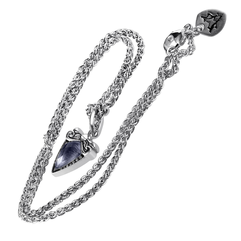 Stephen Webster Women's Sterling Silver Diamond-cut Gemstone Superstud Baroque Pendant Necklace