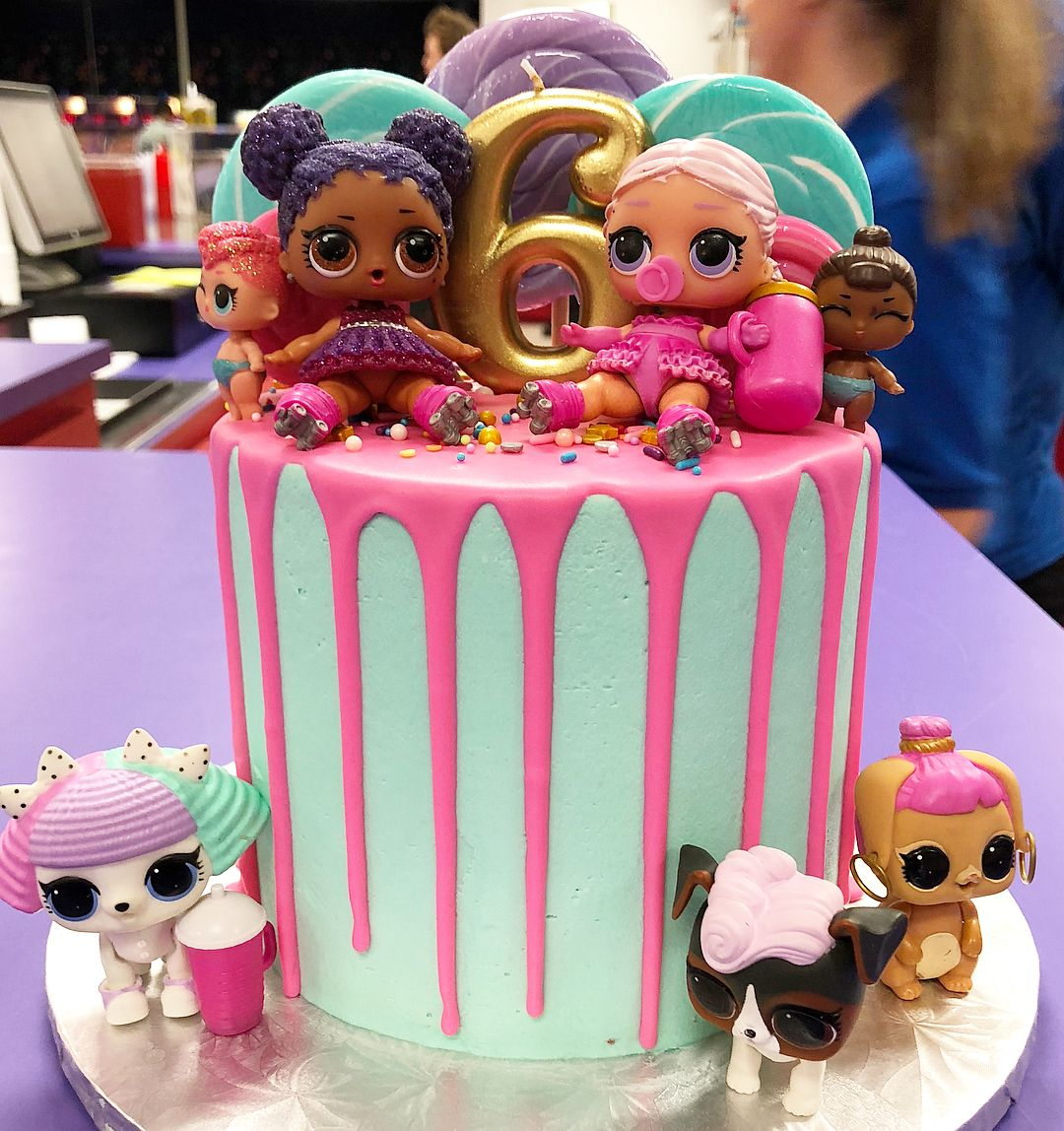 LOL Surprise Doll cake 💖 Funny birthday cakes, Doll