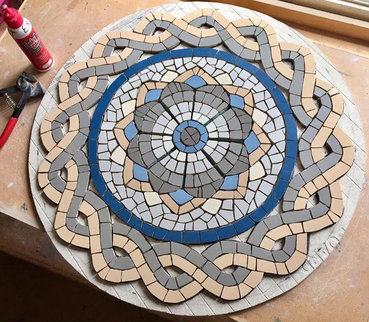 um lindo mosaico