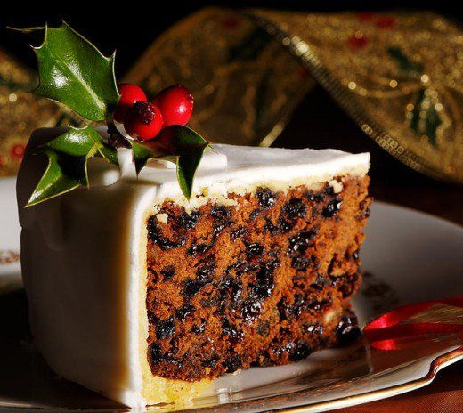 Traditional rich fruit cake recipe